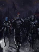 Mass Effect 3 fan art by SharkAlpha