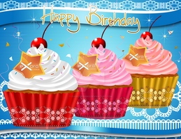 2013 Birthday Card 07 by ExoroDesigns