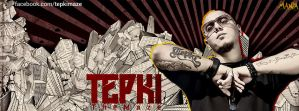 Tepki Facebook Cover by ManiaGraphic
