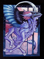ACEO of August 2015 by TransparentGhost
