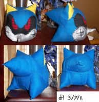 WIP - Metal Sonic Plushy by VibrantEchoes