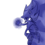 Dark Sonic by rouge2t7