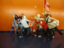 Otaku09: Stay with us Quebec by pink-blossom