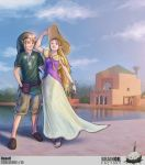 Link and Zelda in Marrakech by WhiteLeyth