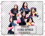[Pack render #02] 06PNGS MINA-TWICE by Binnie-Xiao