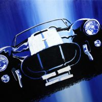 Cobra in Blue by ferrariartist