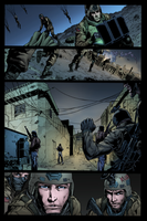 MERCER: THE PURSUIT OF HONOR Pg3 Inked and Colored by danielpicciotto