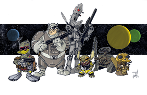 The Bounty Hunters by Hodges-Art