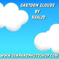 Cartoon Clouds by xvalid