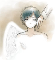 Izaya - An Angel's Tears by Chibi-Kiki-chan