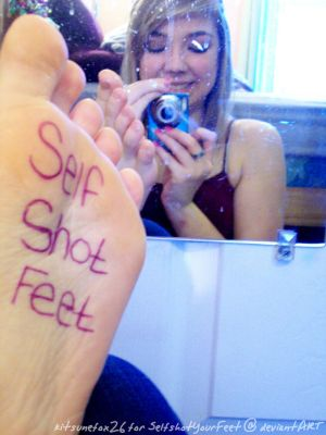 Lovely Mirror Sole Dedication by SelfshotYourFeet