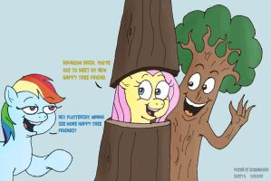MLP: Tree Buddies by SB99stuff