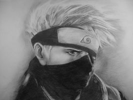 Kakashi finished by Damiondrew