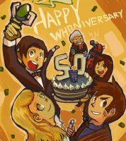 Happy 50th Whoniversary by tunaniverse