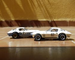 Couple of Chevrolet Corvette Grand Sport by angelneo107