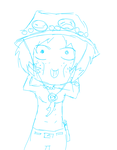 Ace chibi -WIP by Bustificator