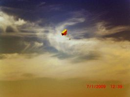 Parasailing by Lily-Hith-Silme
