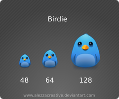 Birdie icon by alezzacreative