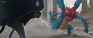 Pokemon: Clash at the Dragon Spiral Tower by mark331