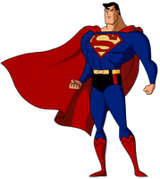 Superman Animated Syle by SUPERMAN3D