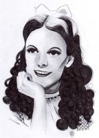 Judy Garland by A-Lack-of-Rainbows