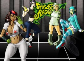 ladies of Jet set radio by WTK