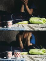 of polka dots and coffe by optical-flare
