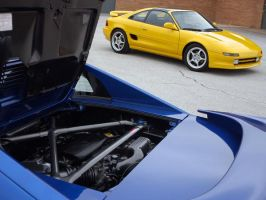 280hp Blue MR2 by datsunfreak