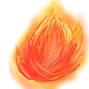 Quick paint - flames by DXMInecrafter