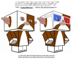 Cubeecraft - Gremlins 1 by CyberDrone