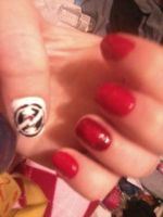 Dave nail art 1 by SquareKitty