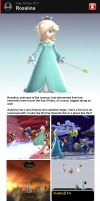 Super Smash Bros. 4 - Rosalina by follyoftheforbidden