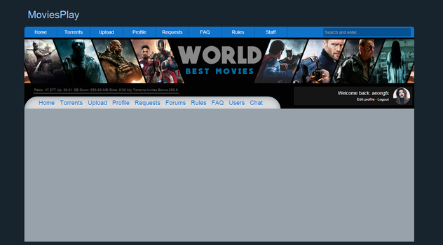 Themes in HTML and CSS (beta) by GFX-AEON