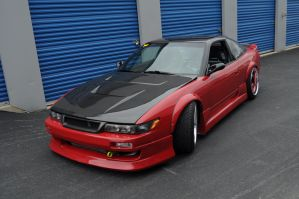 Silvia 240sx Sideview by ticklemeimsexy