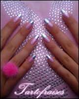 pink and foil 2 by Tartofraises