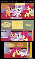 CMC in ''Unicorn's Action'' by DiegoTan