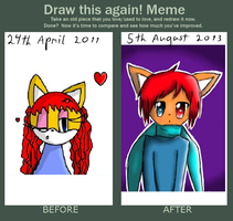 Draw this again Meme by GlLBERT