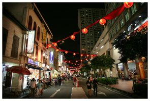 China town by janrystar