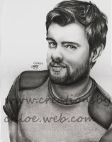 Jack Whitehall by ItsCloctorArt