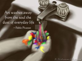 Wash it Away with Art by BishonenMistress