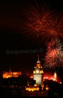 Edinburgh Fireworks 4 by Bongomancan