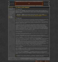 My old personal page design p1 by mordraug