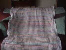 Touch of color afghan by Nanettew9