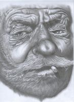 Old man 1 by costage