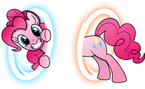 Pinkie Pie Portal- Edit HD by MrCbleck