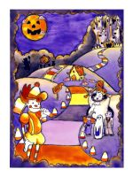 Halloween Candyland by Its-Me23