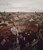 Birds Eye of Prague by Michaella-Designs