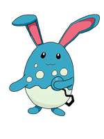 Azumarill by 4themindandsoul