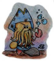 Davy Jones by AK-Is-Harmless