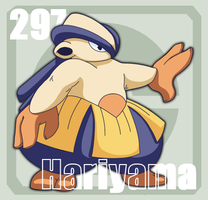 297 Hariyama by Pokedex
